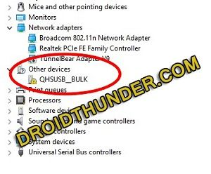 Download Qualcomm USB Driver for Windows 6