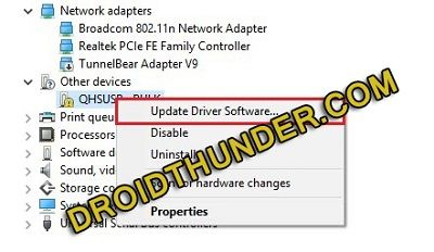Download Qualcomm USB Driver for Windows 7