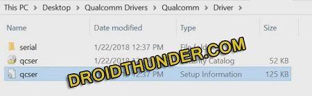 Install Qualcomm USB Driver on Windows 10
