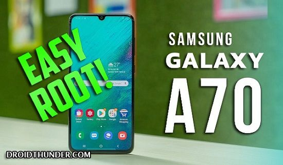 How to Root Samsung Galaxy A70 without PC