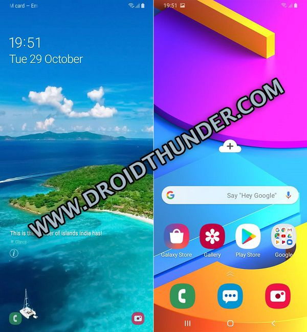 Samsung Galaxy M10s Android 9.0