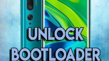 Unlock Bootloader of Xiaomi Mi Note 10