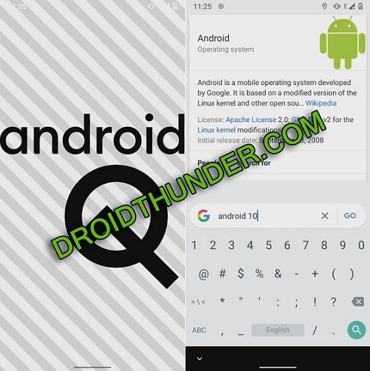 Install Android 10 ROM on Samsung Galaxy A10 screenshot 2