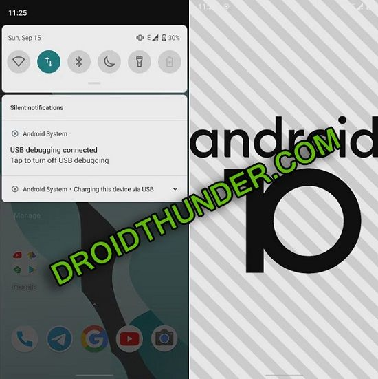 Install Android 10 on Samsung Galaxy A20 screenshot 2