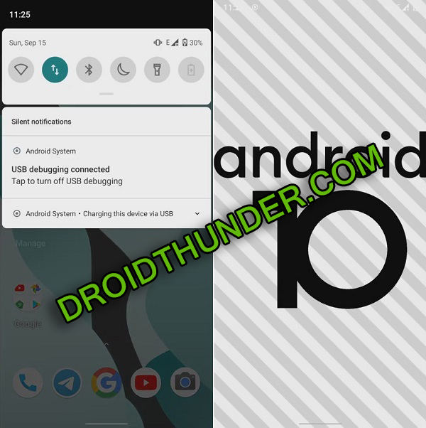 Samsung Galaxy M20 Android 10 LineageOS 17 screenshot