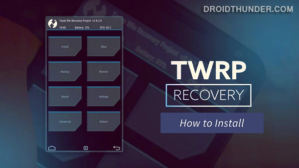 Install TWRP Recovery on Poco X2