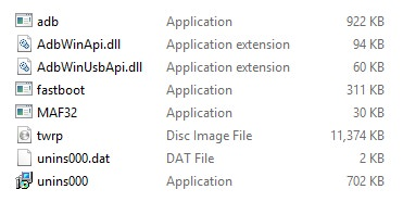 Install TWRP on Galaxy A51 using ADB files screenshot 1