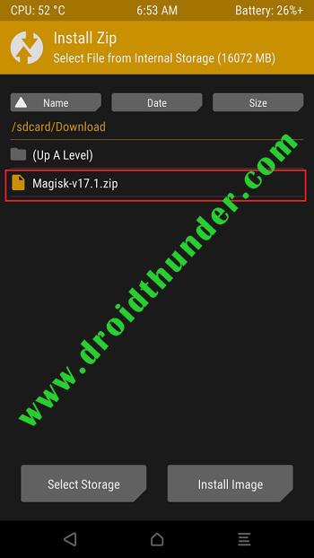 Root Poco X2 using Magisk TWRP install zip screenshot 2