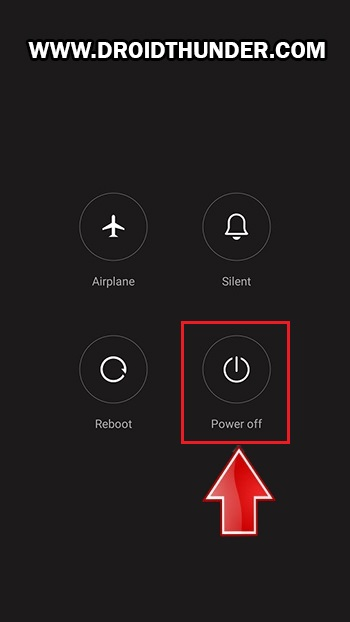 Unlock Bootloader of Poco X2 power off screenshot