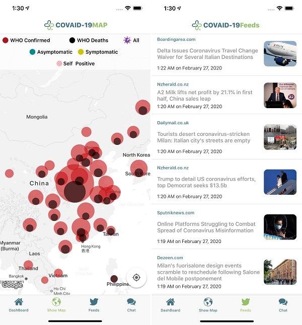 Download Coronavirus App Tracker screenshot-2