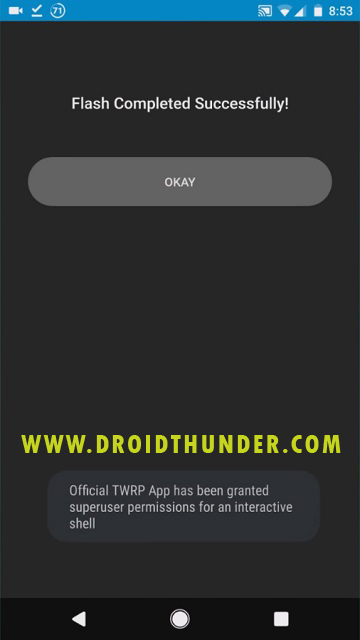 Install TWRP recovery on Galaxy M31 using Official TWRP app screenshot 7