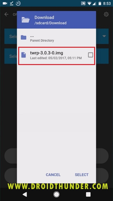 Install TWRP recovery on Galaxy M31 using Official TWRP screenshot 6