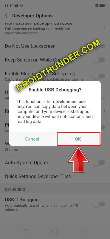 Unlock Bootloader of Realme X50 Pro enable USB debugging option enable screenshot