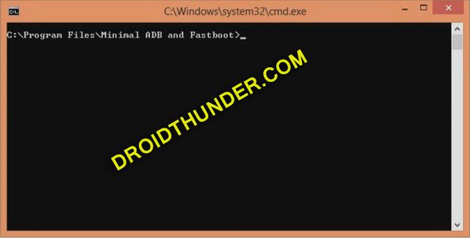 Unlock Bootloader of Realme X50 Pro open cmd window screenshot 9
