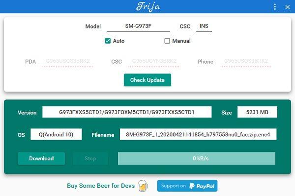 Frija Tool Firmware File