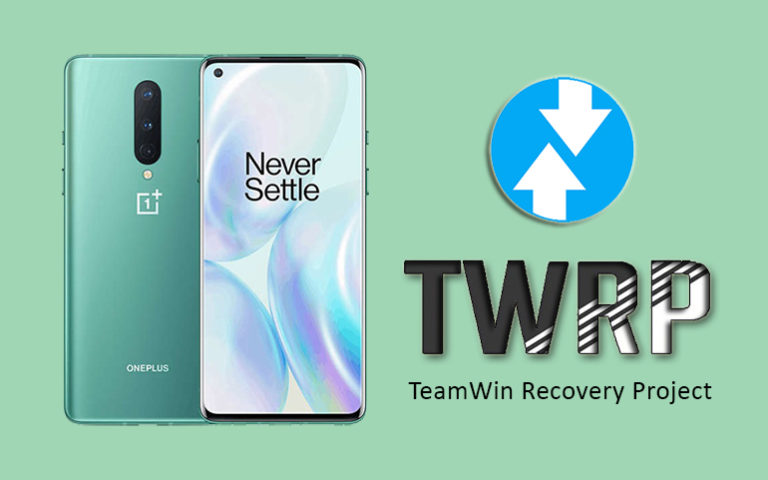 Install TWRP recovery on OnePlus 8 featured img