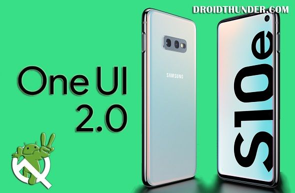 Samsung-Galaxy-S10e-to-Android-10-firmware-update