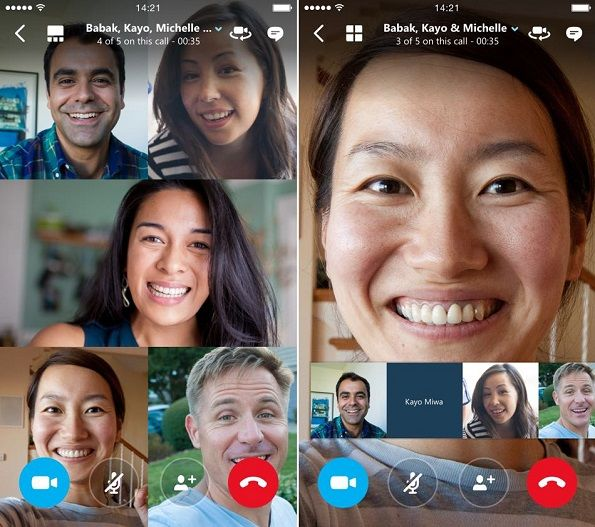 Skype for Android Mobile Phone Video Conferencing Apps
