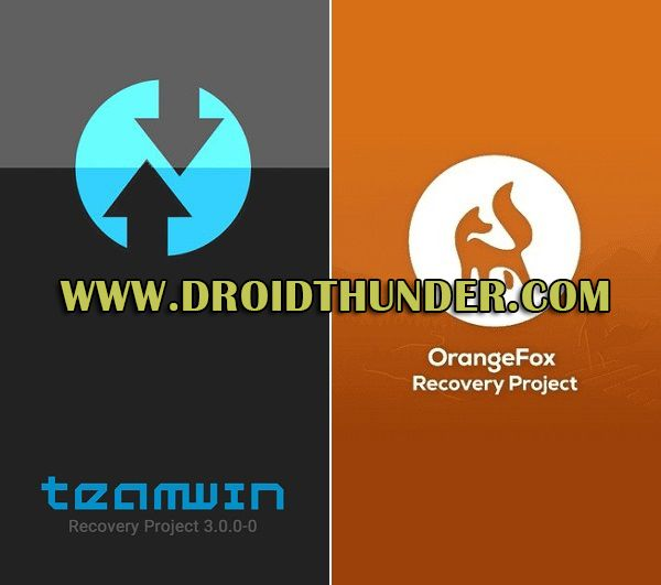 TWRP vs Orange Fox Version