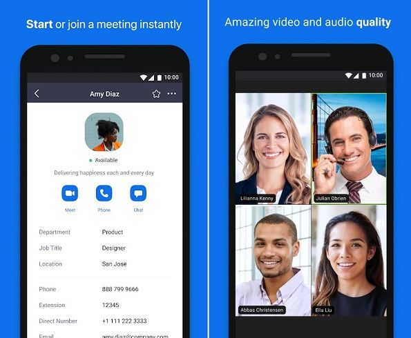 ZOOM Cloud Meeting for Android Video Conferencing Apps