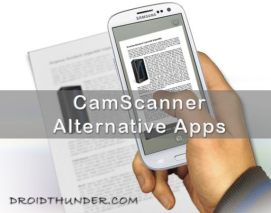 CamScanner Alternative Apps