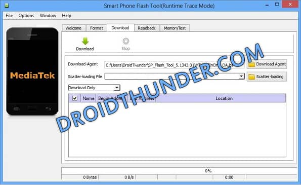 How to Use SP Flash tool to Flash Stock ROM 1