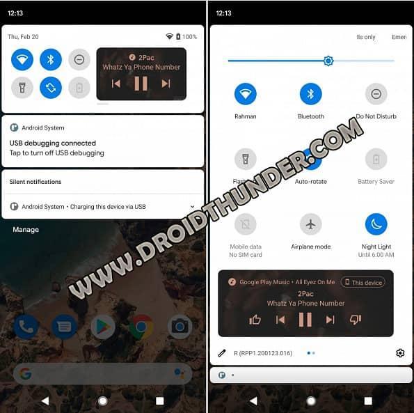 Music Control Widget