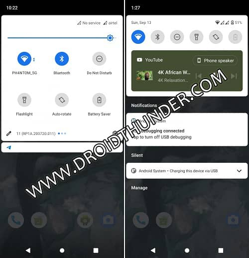 Pocophone F1 Android R Screenshot