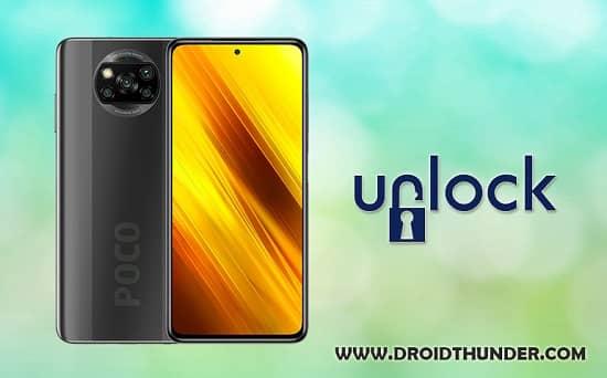 Unlock Bootloader of Poco X3