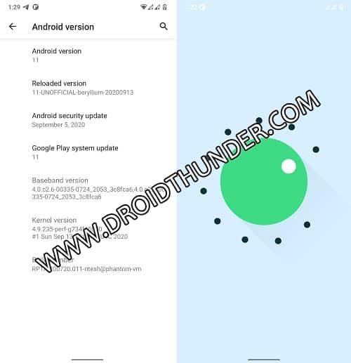 Xiaomi Poco F1 Android 11 Screenshot