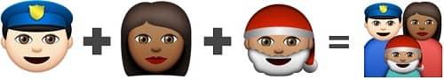 Combine three Emojis together