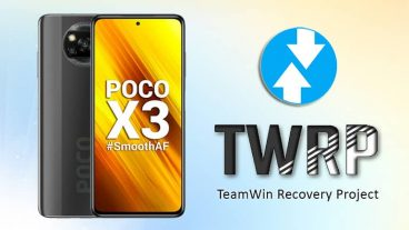 Install TWRP Recovery on Poco X3 NFC