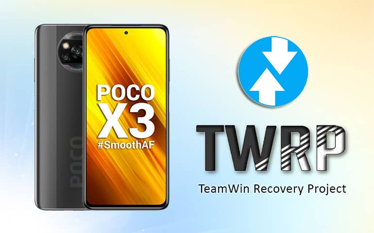 Download TWRP recovery for Poco X3 NFC featured image