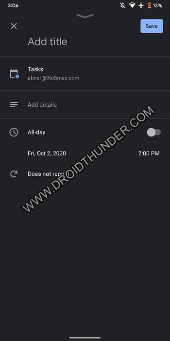 How to Add Tasks Integration in Google Calendar App