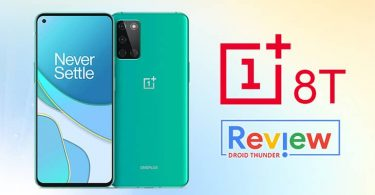OnePlus 8T Review featured image