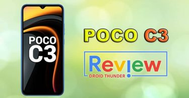 Poco C3 Review featured image