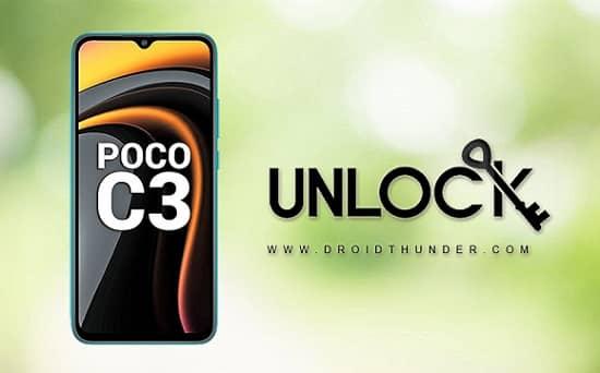 Unlock Bootloader of Poco C3