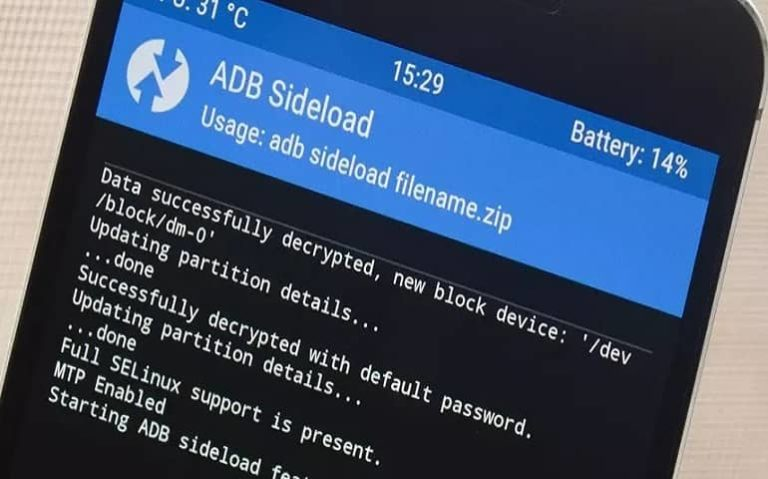 Flash Custom ROM using ADB Sideload featured image