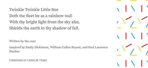 Google Verse By Verse Poem