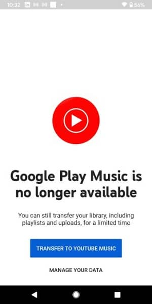 Google Play Music App is no longer Available Worldwide