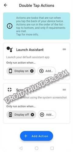 Tap Tap App Double Tap Google Assistant