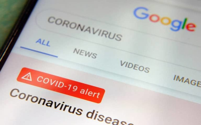 Google Maps Search shows Vaccine Locations featured image