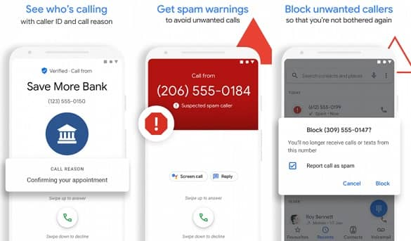 Find out who is calling free using Google Phone app Caller ID feature