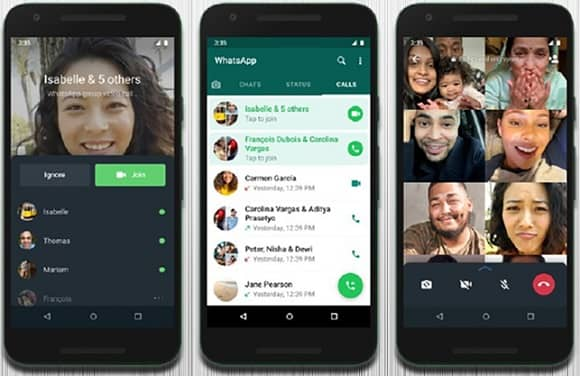 How to Join ongoing WhatsApp Group Call