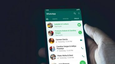 How to Join an ongoing WhatsApp Group Call
