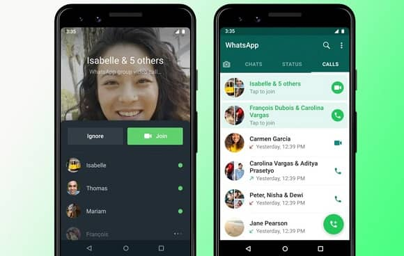 WhatsApp rolls out Joinable Group Call Feature
