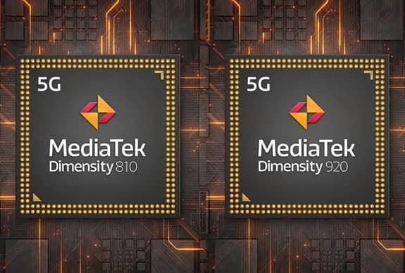 MediaTek announces Dimensity 920 and 810